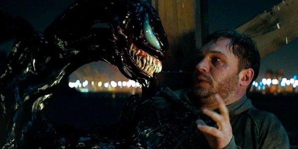 Eddie and Venom talking