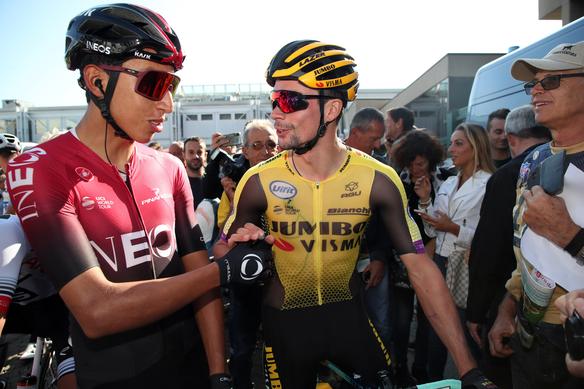Egan Bernal Identifies Primoz Roglic As Chief Tour De France Rival Cyclingnews
