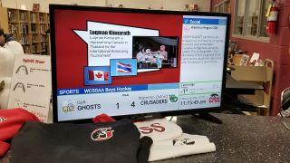 Bannister Lake's Chameleon Powers Waterloo Region District School Board Digital Signage Network
