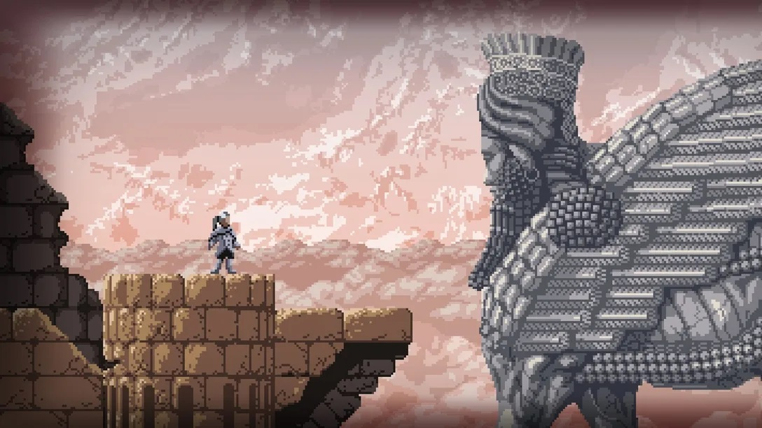 You'll be able to complete Axiom Verge 2 without fighting any bosses