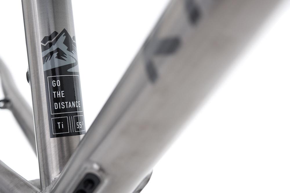 チタン合金自転車フレームの詳細