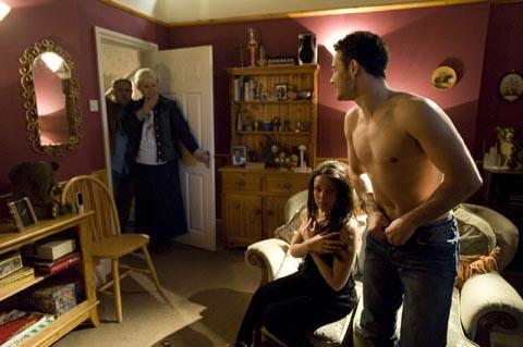 Things heat up between Jason and Tina