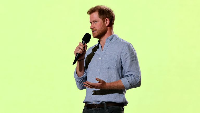 Prince Harry at Vax Live Concert