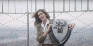 Cindy Crawford in a video feature for Vogue
