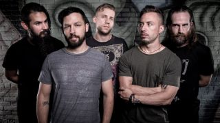 a press shot of Dillinger Escape Plan in 2016