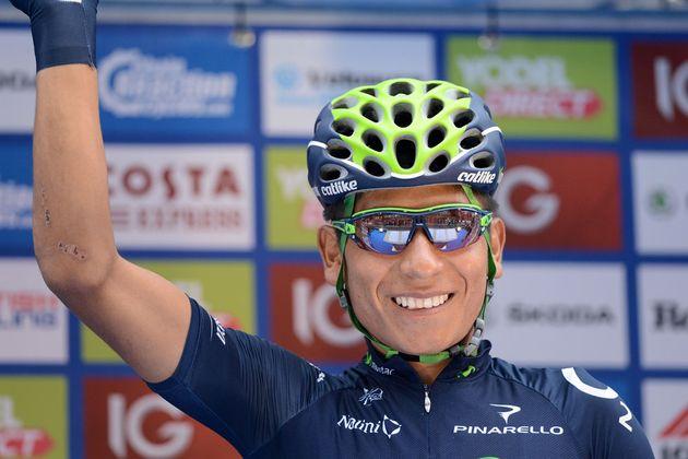 Nairo Quintana, Tour of Britain 2013, stage eight