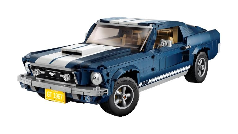 LEGO bites the bullet and builds a 1967 Ford Mustang
