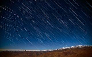 Star Rain in Atacama 1920