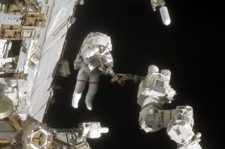 Astronauts to Change Space Batteries in Spacewalk