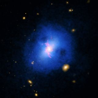 Abell 2597 Galaxy Cluster