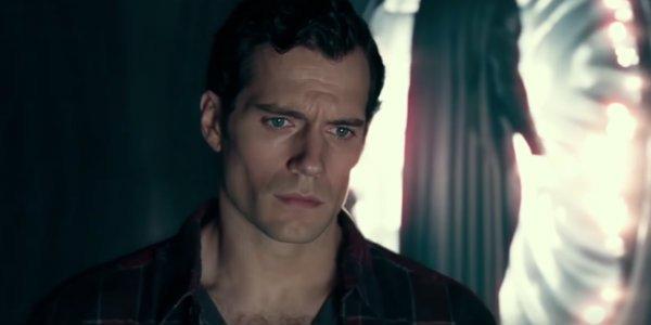Superman Justice League Black Suit scene