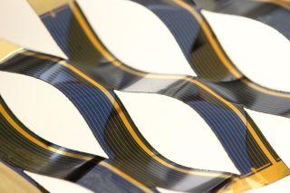 Kirigami-Inspired Solar Cell