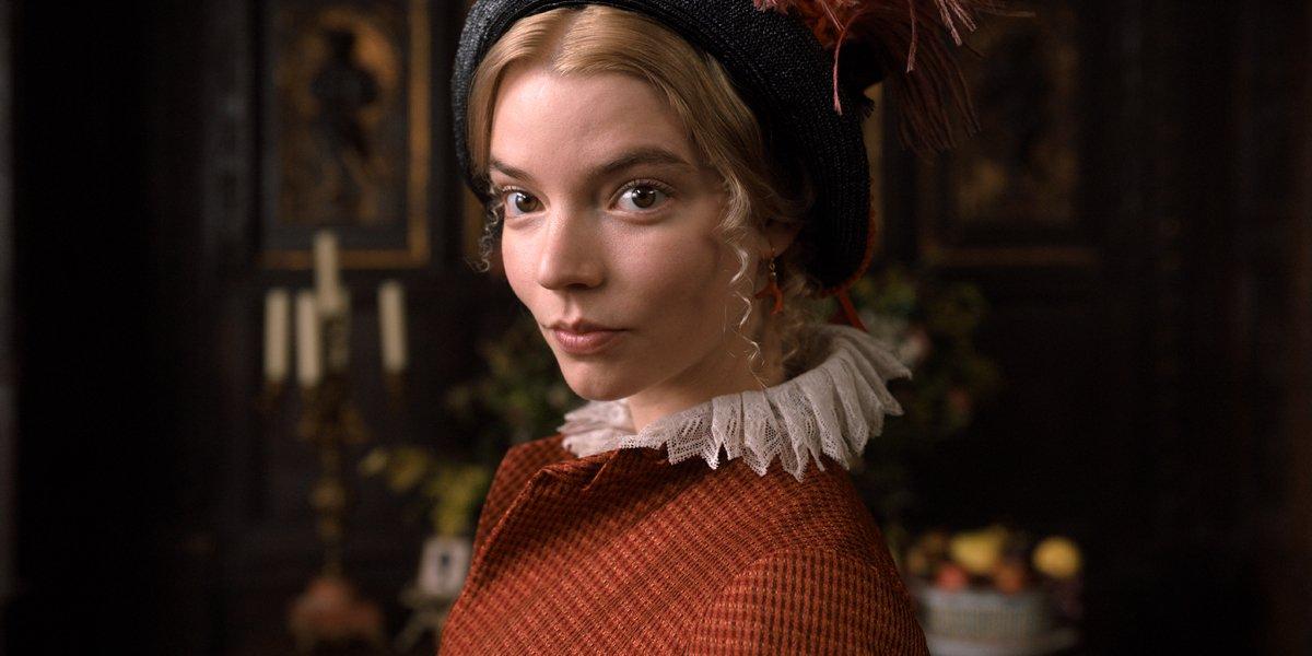 Anya Taylor-Joy as Emma Woodhouse in Emma