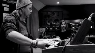 Opeth in studio video