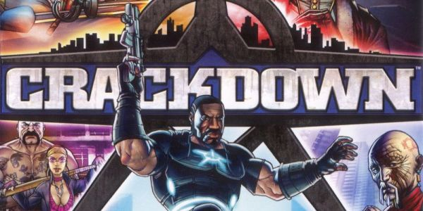 Crackdown game cover