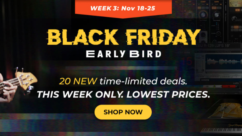 Week 3 Of Waves Black Friday Early Bird Deals Have Landed Big Savings On Abbey Road Studio 3 Submarine And More Musicradar