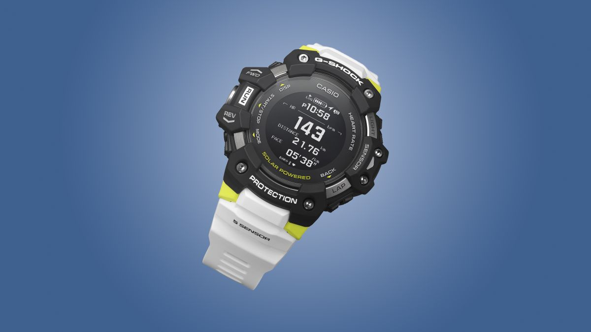 Casio's new G-Shock GSQUAD fitness watch takes on Fitbit and Garmin