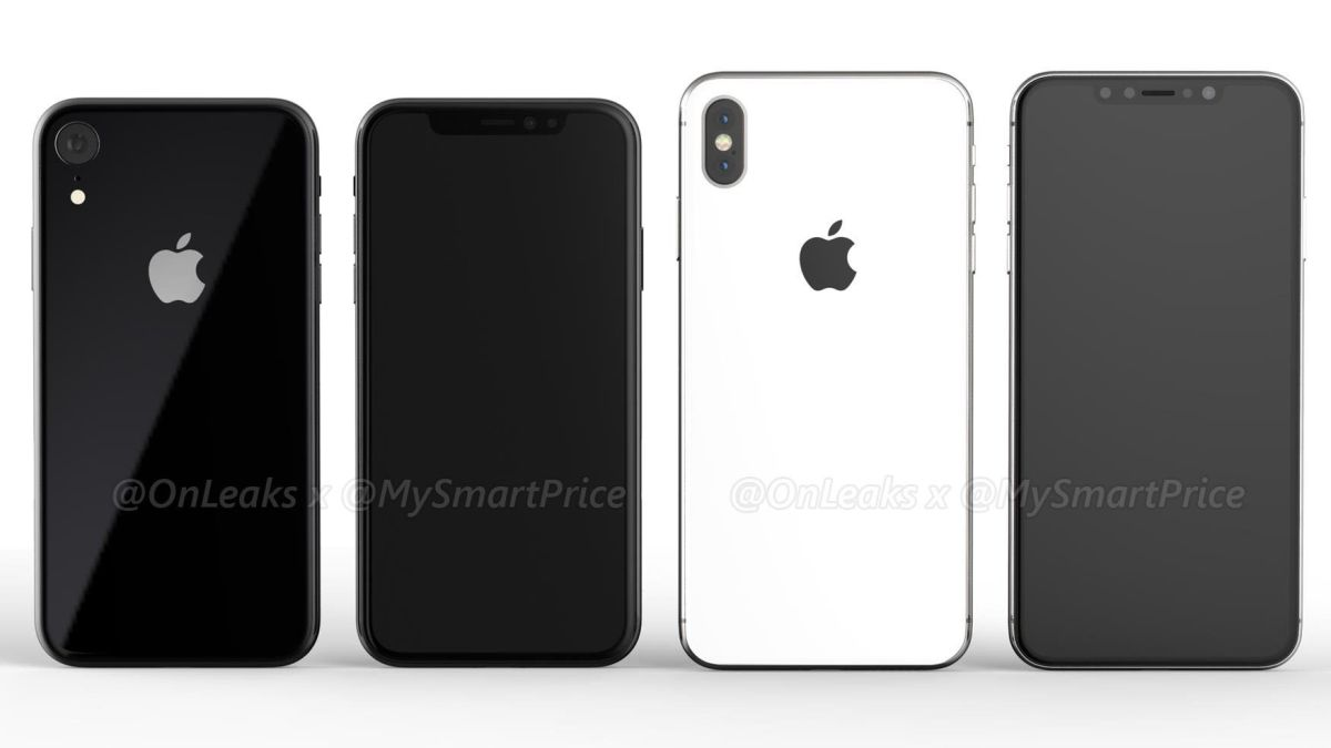 Bigger iPhone X2 and iPhone 9 show up in video renders, offering possible first look