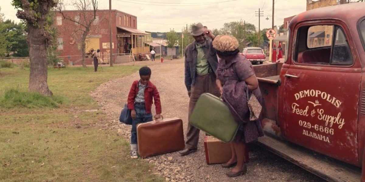 Octavia Spencer and Jahzir Kadeem Bruno in The Witches