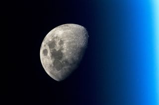 The Moon from the Space Station