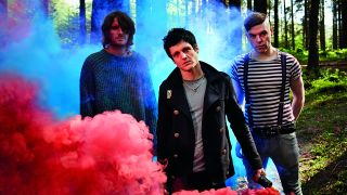 The Virginmarys, rock band, group shot