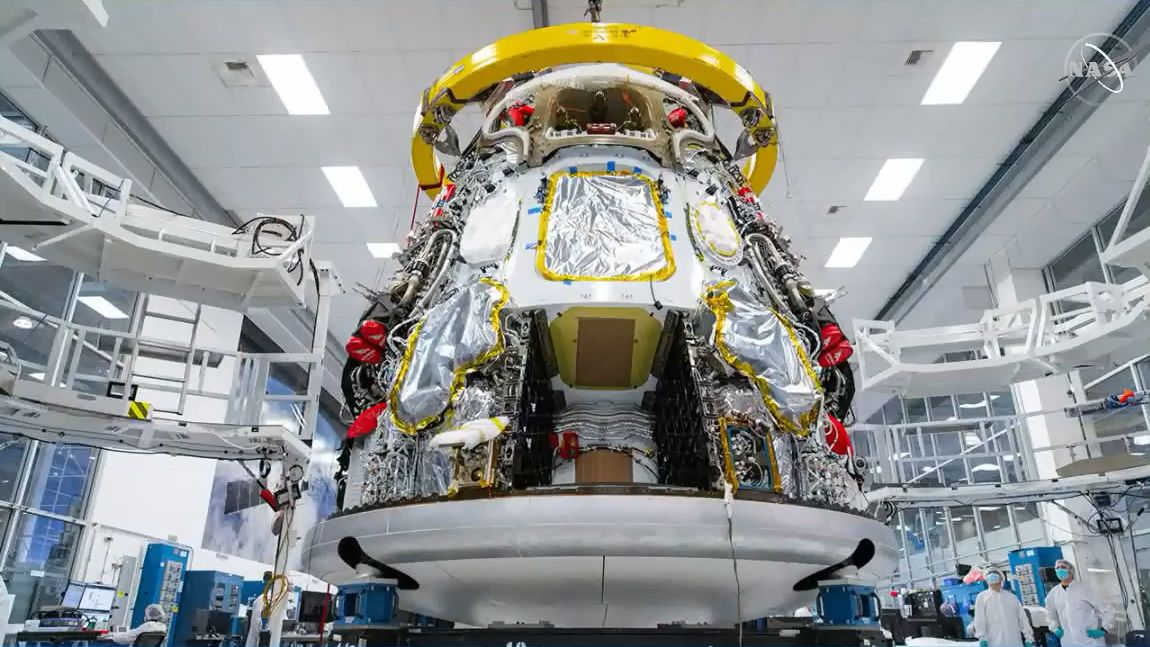 SpaceX's Crew Dragon capsule for next NASA astronaut launch arrives in Florida