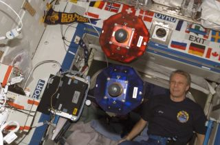 Spheres Robots on the ISS