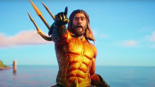 fortnite aquaman challenges swimming time trial dirty dock