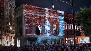 Panasonic has been selected as the exclusive projection technology sponsor of LUMA, a projection mapping festival that transforms Binghamton, NY into an immersive storytelling experience.