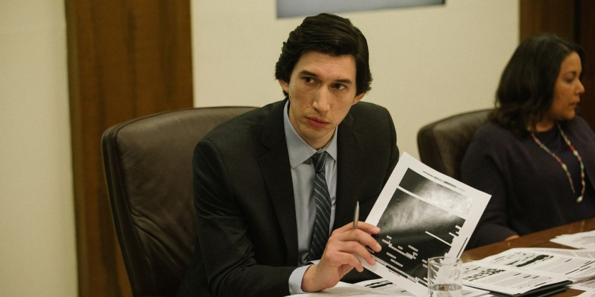 """The Report review: """"Adam Driver portrays Daniel Jones with dogged conviction"""""""