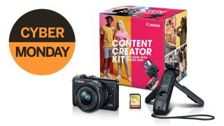 Save $50 on the Canon EOS M200 Content Creator Kit on Cyber Monday