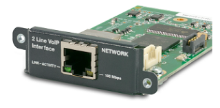 Symetrix Delivers 2 Line VoIP Interface Card