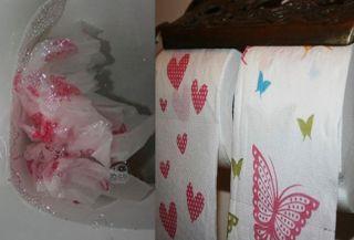 decorative toilet paper