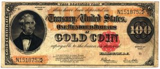 Gold certificates, used as paper currency in the United States from 1882 to 1933, were freely convertible into gold coins.