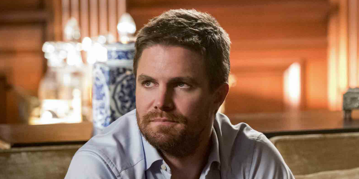Grant Gustin And More Honor Stephen Amell And Arrow Before Series Finale - CINEMABLEND