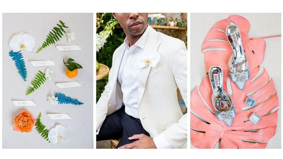 Pantone reveals the top wedding colour palettes of 2019