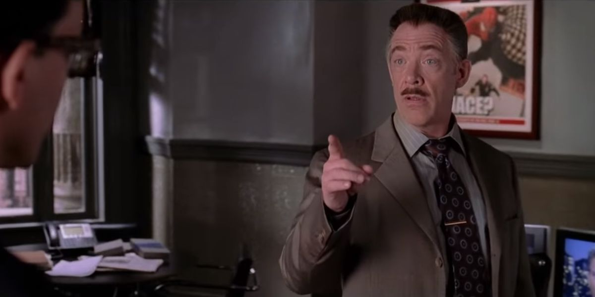J.K. Simmons as J. Jonah Jameson in Spider-Man 2