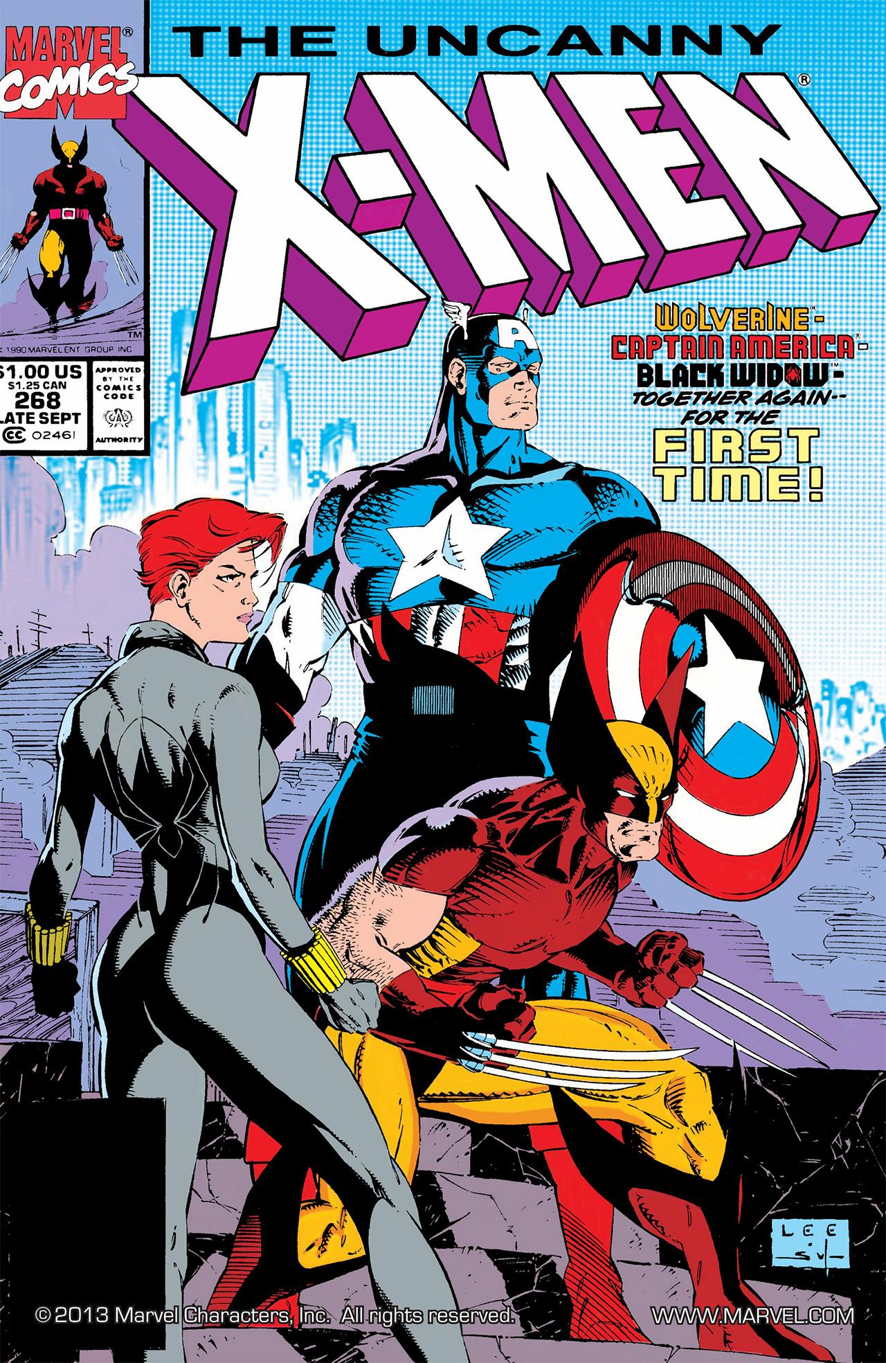 Portada de Uncanny X-Men # 268