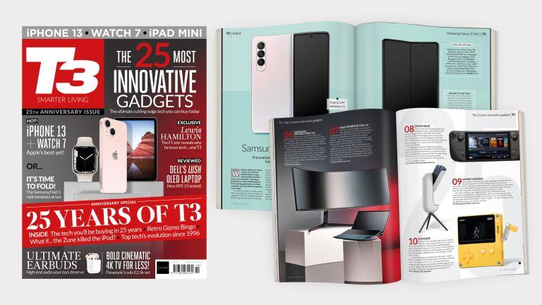 T3 magazine 25th anniversary