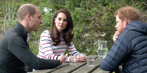 Prince William Kate Middleton Prince Harry Heads Together Campaign