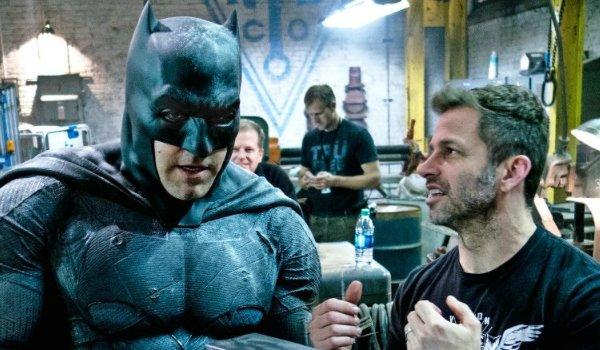 ben affleck and Zack Snyder