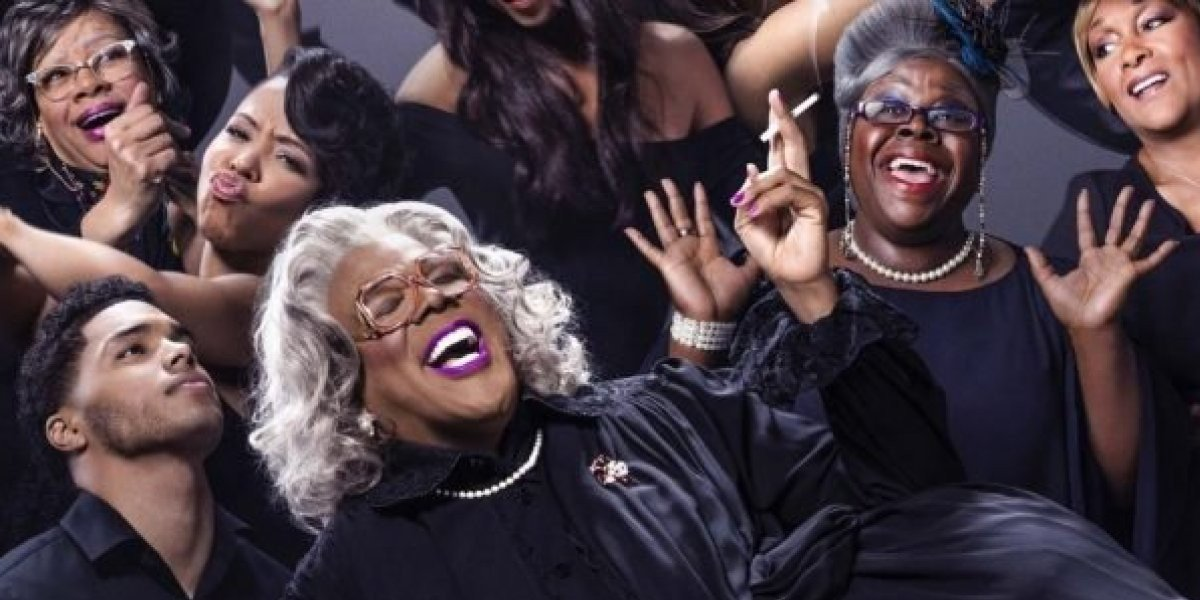 Tyler Perry in the wig