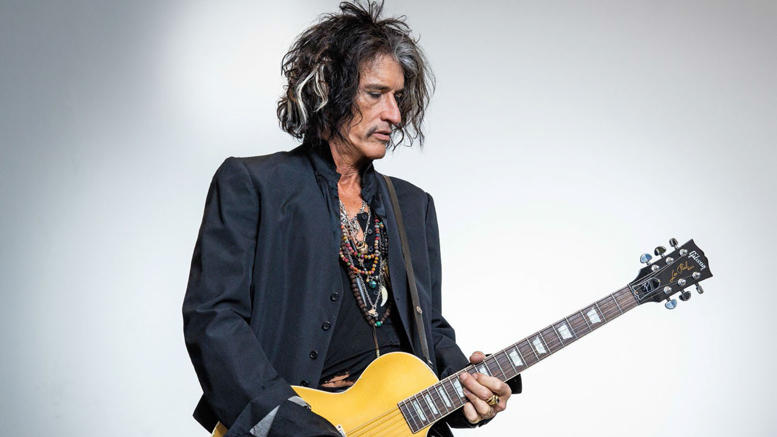 Joe Perry It S Probably The Closest I M Ever Going To Get To Adorning A Les Paul With All My Little Touches Guitar World To connect with joe perry, log in or create an account. joe perry it s probably the closest i