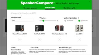Crutchfield SpeakerCompare: virtually audition speakers online before you buy