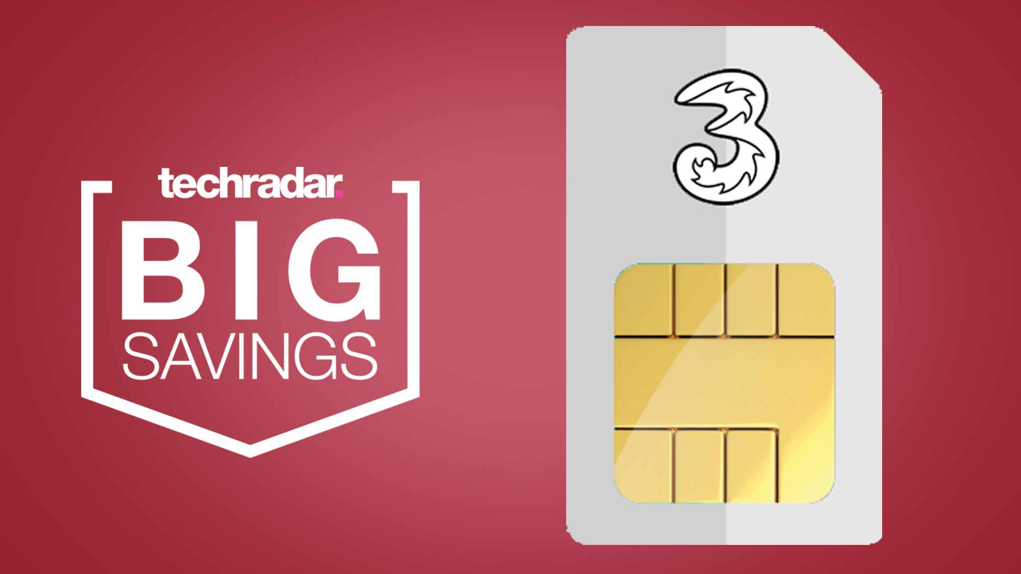 These Three SIM only deals offer 8GB of data for an effective £4 a month thumbnail