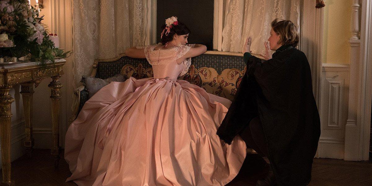Greta Gerwig directing Emma Watson