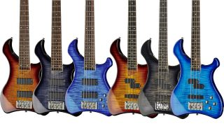 Harley Benton Marquess four- and five-string bass guitars