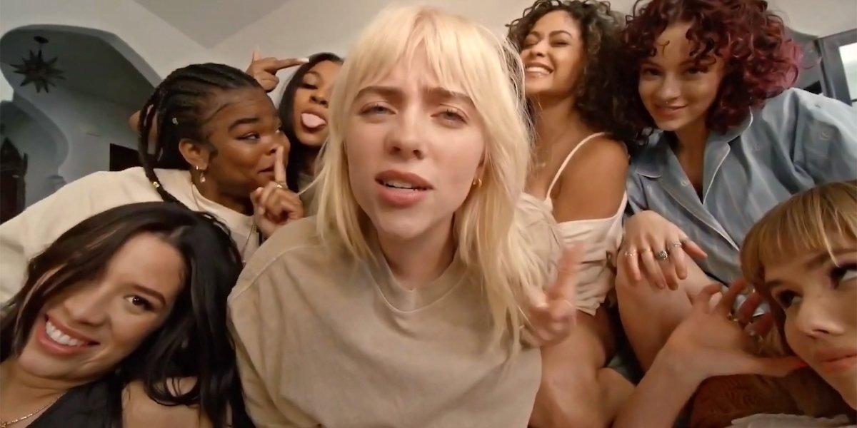 Billie Eilish in Lost Cause music video
