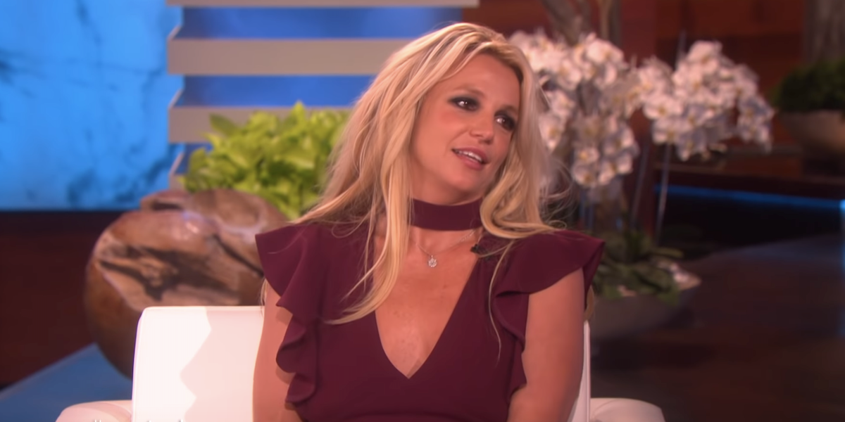britney spears ellen interview 2019