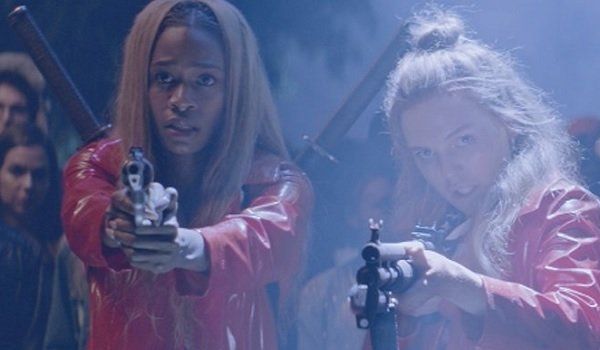 Assassination Nation girls armed up and ready for a fight